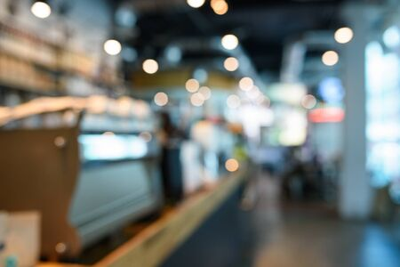 coffeeshop: Abstract blur coffeeshop background from bangkok, Thailand