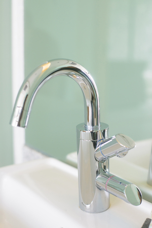 Polished nickel bathroom faucets widespread brushed