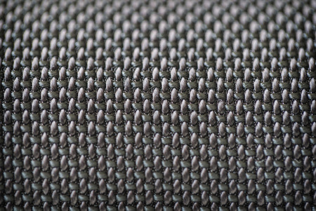 corduroy: Audio speakers black cover - macro shot for background