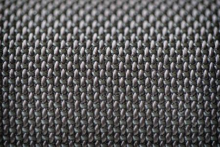 mechanical radiator: Audio speakers black cover - macro shot for background