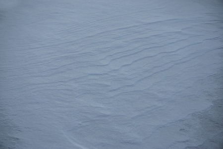 drifts: Natural winter background with snow drifts and falling snow