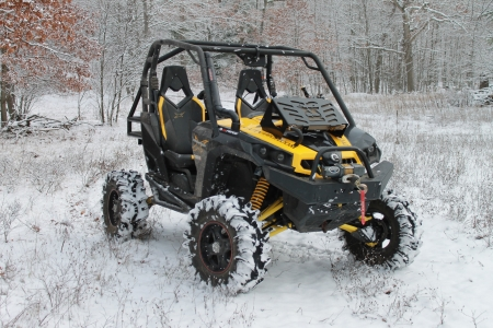 UTV In the Snow