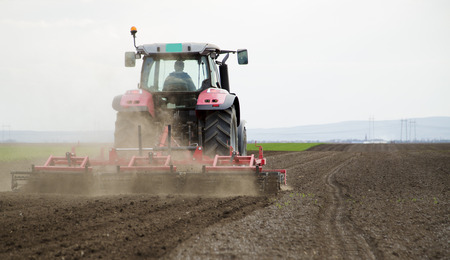 arable land: Arable land preparation for sowing