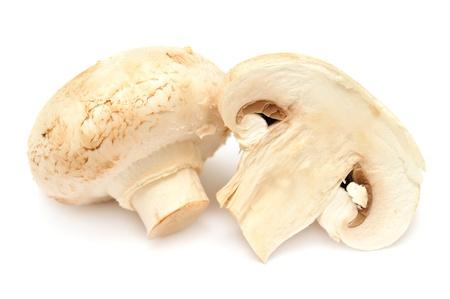 Champignon mushroom isolated on white background Zdjęcie Seryjne - 18371300