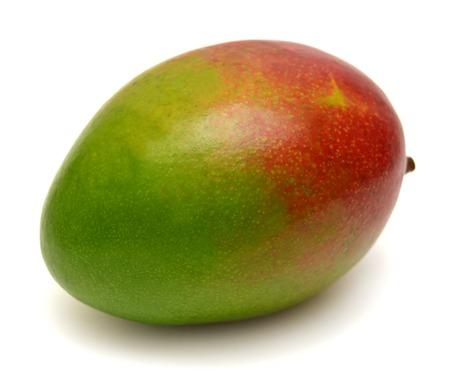 Mango isolated on white background Zdjęcie Seryjne - 37194019