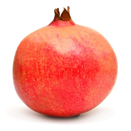 Pomegranate fruit isolated on white background Zdjęcie Seryjne