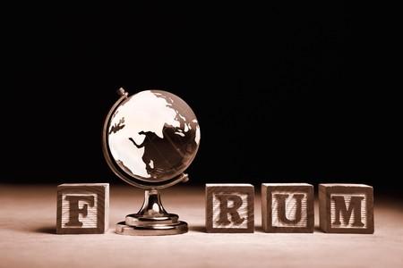 Word 'Forum Stock Photo - 7988321