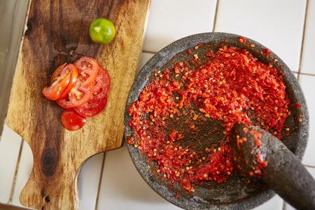 sambal: Sambal and its additional ingredients to make it more yummy