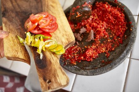 pebles: Sambal and its additional ingredients to make it more yummy