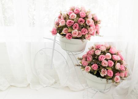 Blossom - pink flower, floral background ,decoration photo