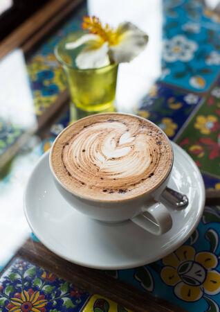 coffee and books photo