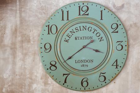 vespers: old vintage clock face