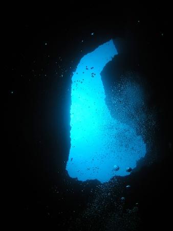 Blue Hole in Miyako      photo