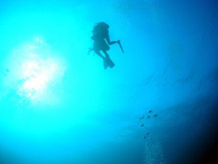 Diver in Miyako Stock Photo - 14622287