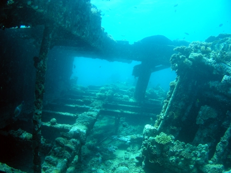 Wreck ships in Red Sea