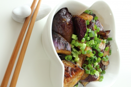 pace: An eggplant, the Nanban-style escabeche to make, food, Japanese-style food, the Koppies pace, a high angle
