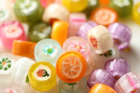 crafted: Crafted candy of Japan Stock Photo
