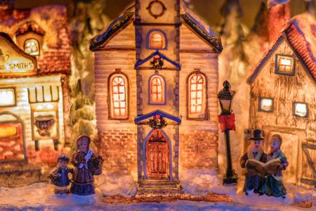 Winter christmas decoration Stock Photo
