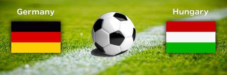 Soccer international match EM 2020/2021 - Germany versus Hungary