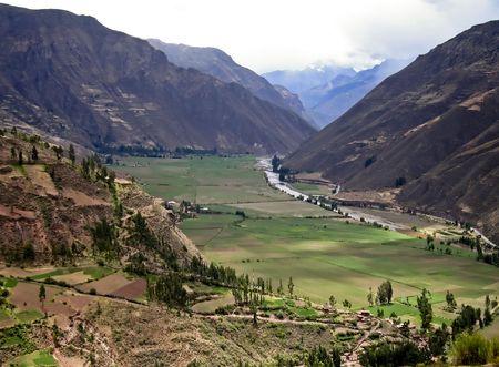 sacred valley of the incas: Urubamba Valley - Sacred Valley of the Incas in the Peruvian Andes