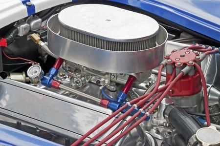 고성능 429 cu-in V8 엔진 - 부분 평면도