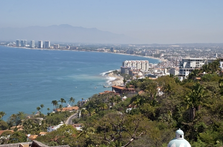 Scenic Puerto Vallarta by the Mexican Pacific Ocean photo