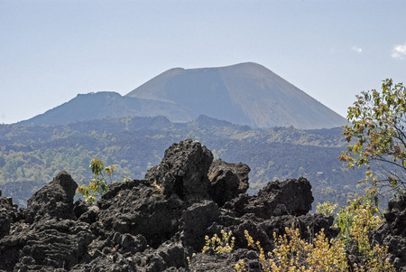 Volcano Paricutin, near Uruapan, Mexico