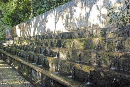 ruiz: Tropical fountain in Uruapan National Park; Mexico