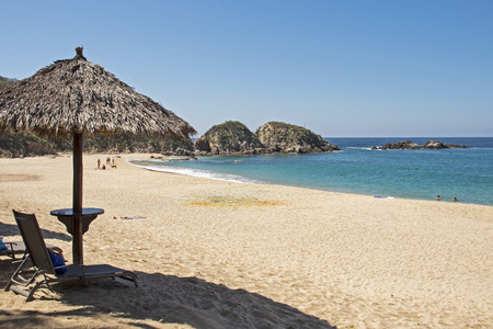 jalisco: Remote beach by the Mexican Pacific Ocean, Mayto, Cabo Corrientes, Jalisco