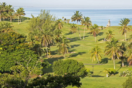 varadero: Partial view of the Varadero Golf Course by the Xanadu Mansion, Varadero, Cuba