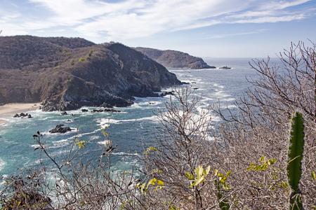 corrientes: Coastal headlands by the Mexican Pacific Ocean, Cabo Corrientes, Jalisco