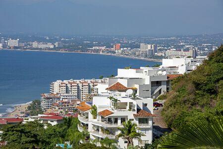 Hillside view of Puerto Vallarta, Mexico