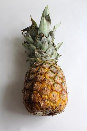 Full view of ripe pineapple Stock Photo