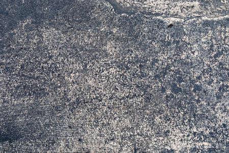 Heavy texture urban concrete and asphalt background, grunge urban creative copy space, horizontal aspect