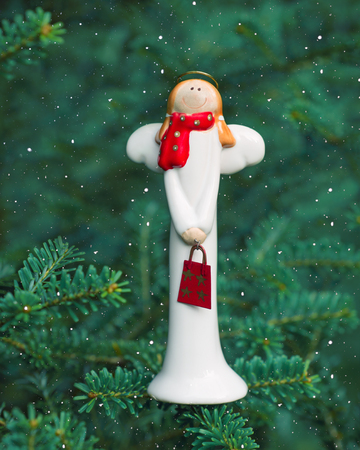 Christmas decoration angel  photo