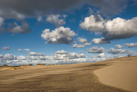 sand dunes: Sand dunes. Kurshskaya kosa