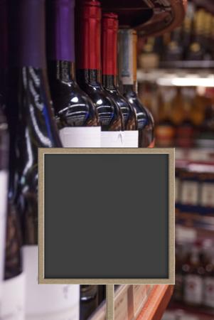 Sales of wine in wine shop