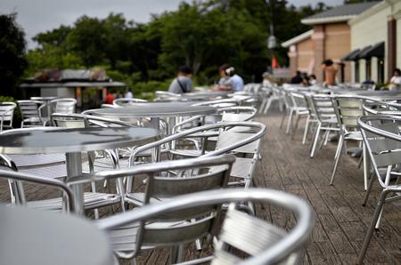 outdoor restaurant: Outdoor restaurant in Japan