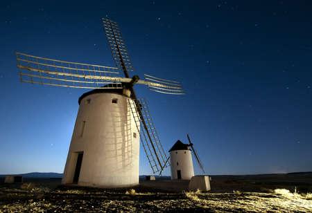 turism: Quixote Windmills