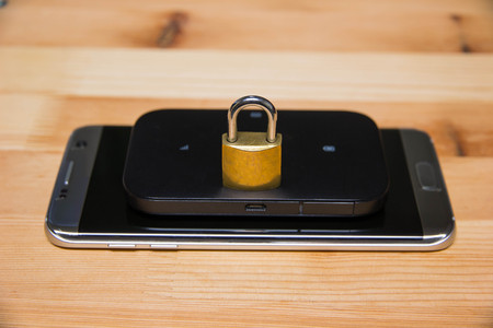 phone and pocket wifi secure, private, confidential connection for internet use
