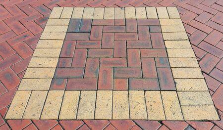 floor brick pattern Stok Fotoğraf