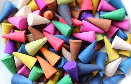 wierookbellen zijn kleurrijk, ontspannen en geurig