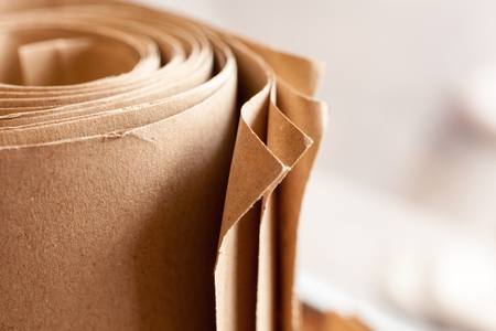 Brown roll paper
