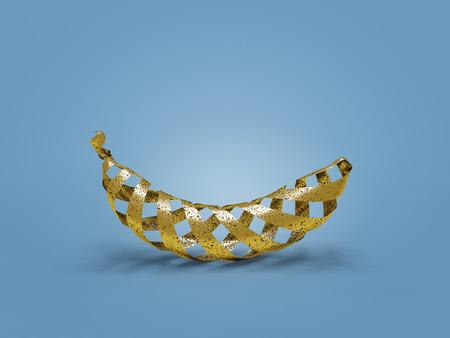 Plátano dorado hueco