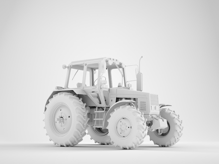 Agricultural generic tractor 版權商用圖片