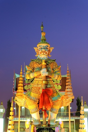 Thai Giant Statue style art in Udonthani ,Thailand.