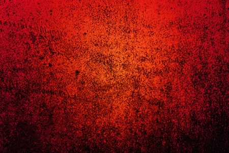 Walls of the old red and black with dirt and stains in the center of the image brightness Stock Photo - 13898416