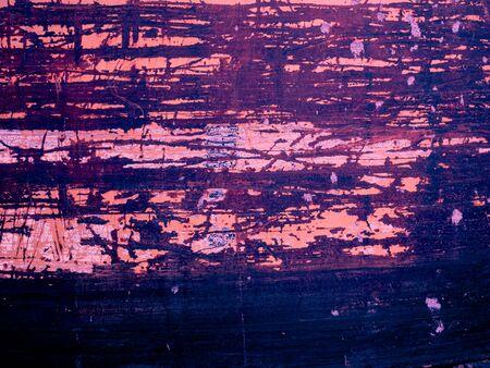 Surface peeling paint peeling off old