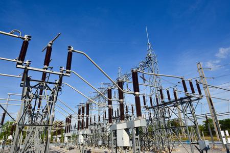 Main Power Plant Energy ideas And energy saving 스톡 콘텐츠