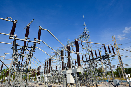 Main Power Plant Energy ideas And energy saving Archivio Fotografico